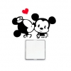 Wallsticker - Minnie & Mickey - Kontaktsticker