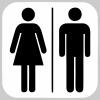 Pictogram - Toilet - Herre/Dame