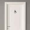 Toilet - Handicap symbol - sort
