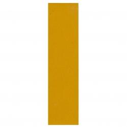 Refleksplade, 5 x 20 cm. Gul