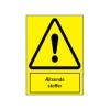 A302 - Sikkerhedsskilt - Ætsende stoffer