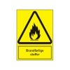 A303 - Sikkerhedsskilt - Brandfarlige stoffer