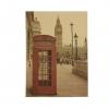 Vintage poster - London, Telefonboks